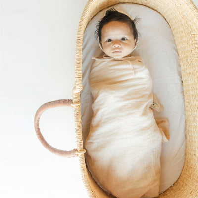 Clementine Kids Heirloom Swaddle – Vanilla
