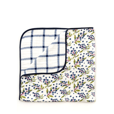 Clementine Kids Reversible Quilt – Huckleberry