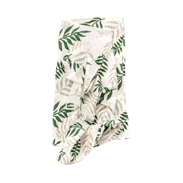 Clementine Kids Swaddle – Jungle Fern - Clementine Kids | Elenfhant