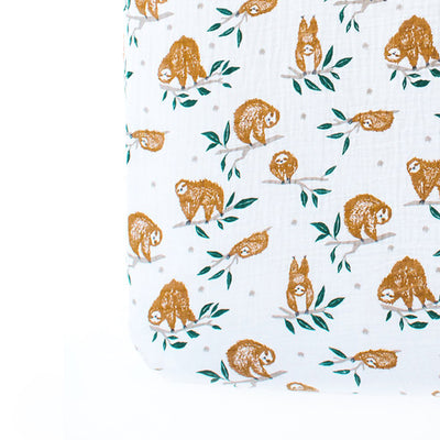 Clementine Kids Crib Sheet – Slow Living - Clementine Kids | Elenfhant