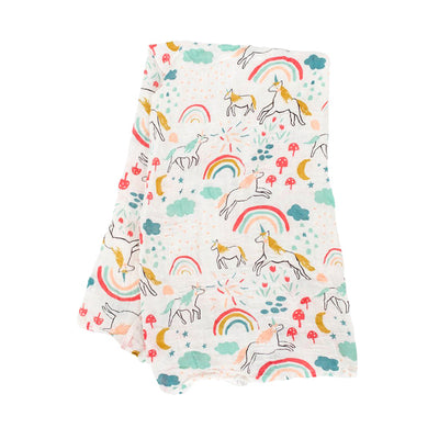 Clementine Kids Swaddle – Unicorn Land - Clementine Kids | Elenfhant
