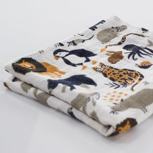 Clementine Kids Swaddle – Zoology - Clementine Kids | Elenfhant