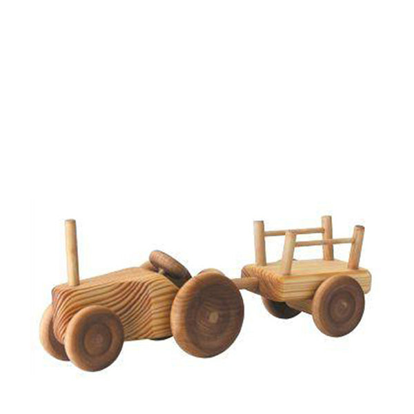 Debresk Small Tractor with Cart