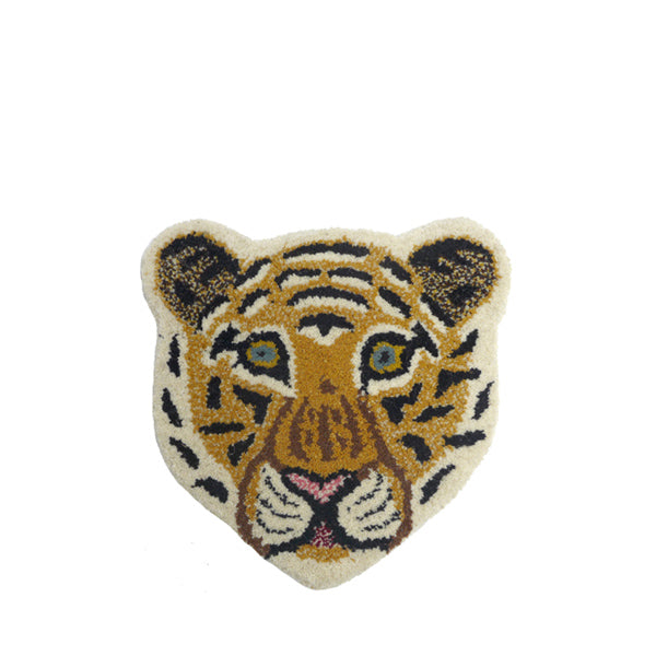 Doing Goods Rug - Cloudy Tiger Head