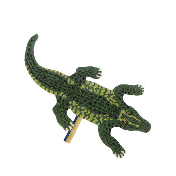 Doing Goods Rug - Coolio Crocodile