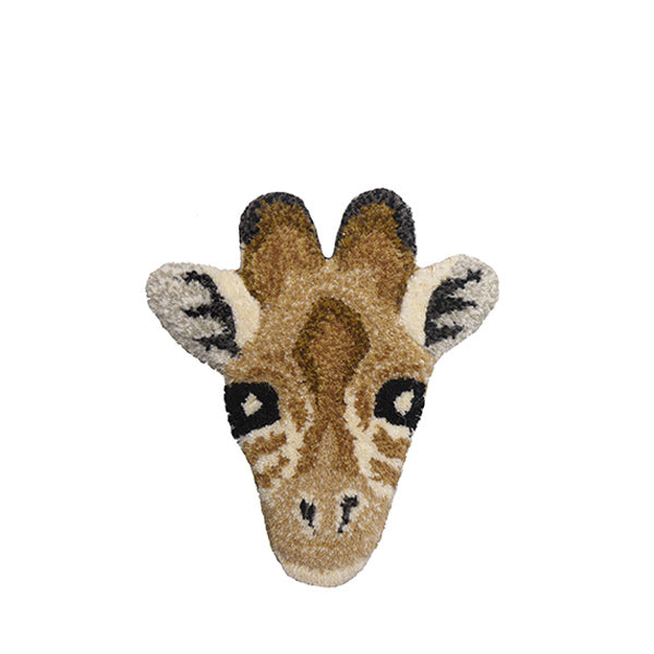 Doing Goods Rug - Gimpy Giraffe Head