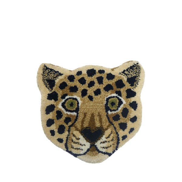 Doing Goods Rug - Loony Leopard Head