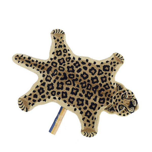 Doing Goods Rug - Loony Leopard