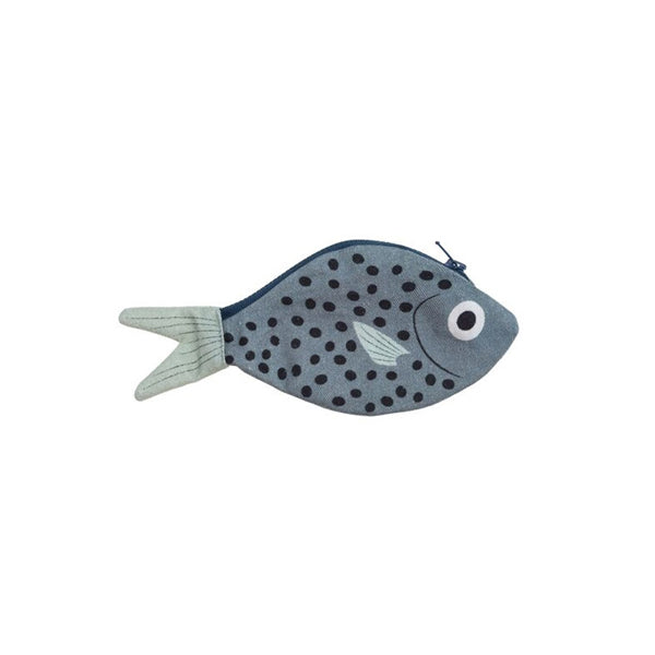 Don Fisher Atlantic Keychain Purse – Grey Blue Bream