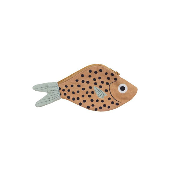 Don Fisher Atlantic Keychain Purse – Mustard Bream