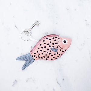 Don Fisher Atlantic Keychain Purse – Pink Bream