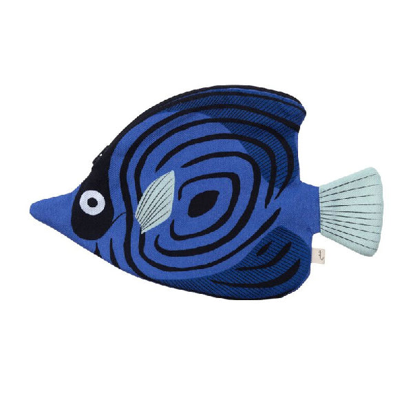 Don Fisher Australia Pencil Case – Blue Butterfly Fish