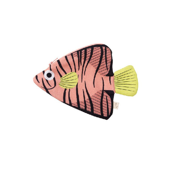 Don Fisher Australia Keychain Purse – Pink Batfish