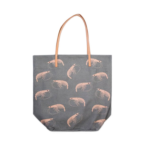 Don Fisher Atlantic Tote Bag Shrimp – Grey Blue