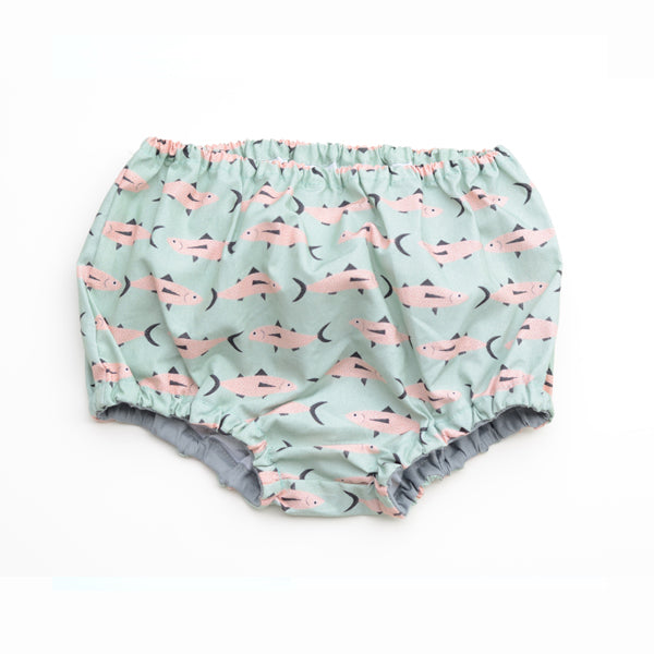 Don Fisher Green Fish Culotte