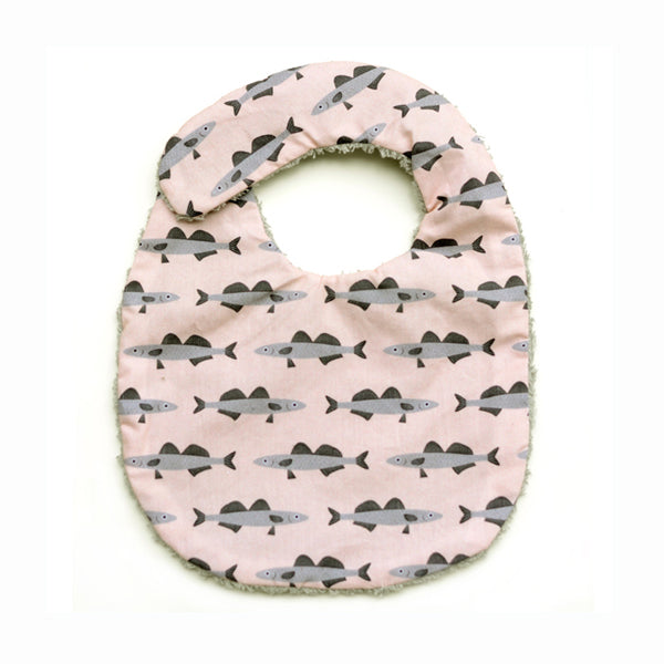 Don Fisher Pink Fish Bib