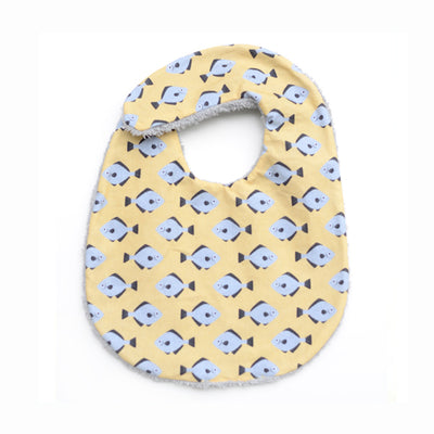 Don Fisher Yellow Fish Bib