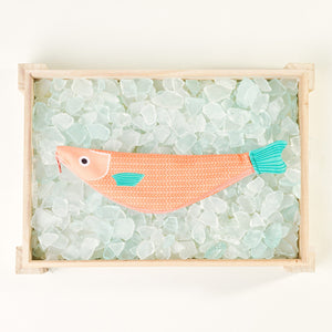 Don Fisher Fish Pencil Case - Red Mullet