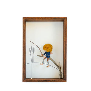 Dorimu Shadow Box Fisherman - Brown