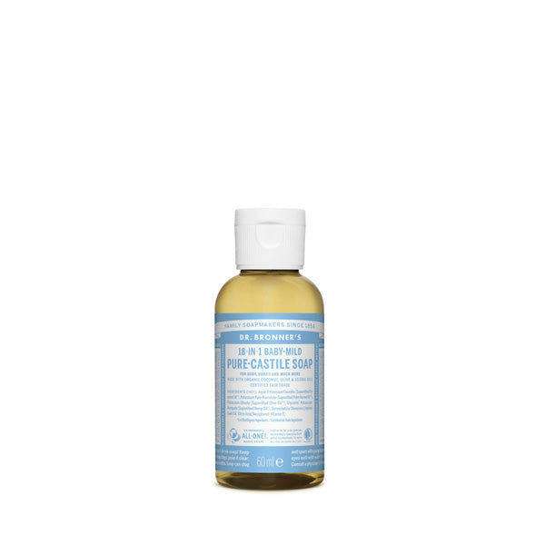 Dr. Bronner's Pure-Castile Liquid Soap - Baby Unscented