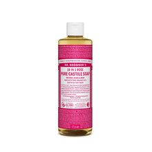 Dr. Bronner's Pure-Castile Liquid Soap - Rose