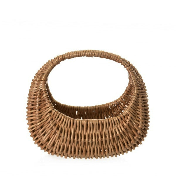 Egmont Toys Rattan Crescent Basket - Child