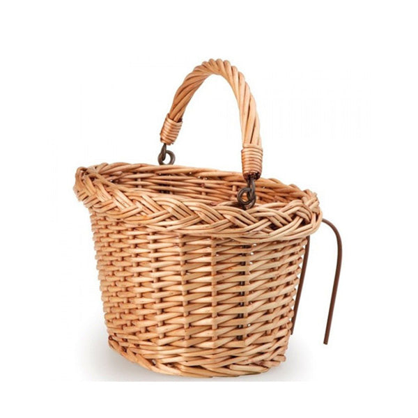Egmont Toys Rattan Bicycle Basket - Child