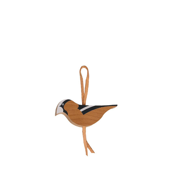 Eperfa Hillside Bird Ornament - Hawfinch