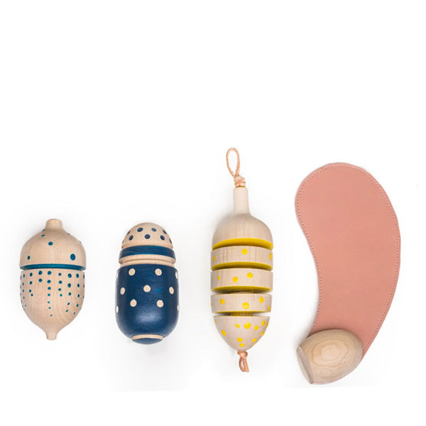 Eperfa Hillside Fruits - Rattle Set