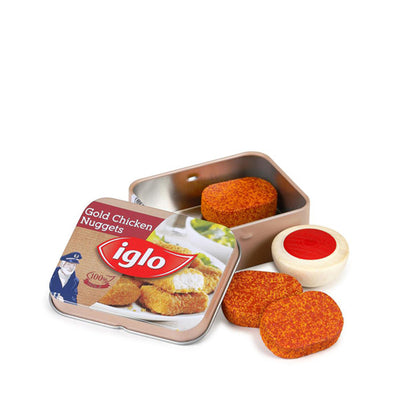 Erzi Chicken Nuggets Iglo in a Tin