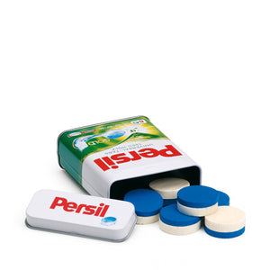 Erzi Detergent Tablets Persil in a Tin