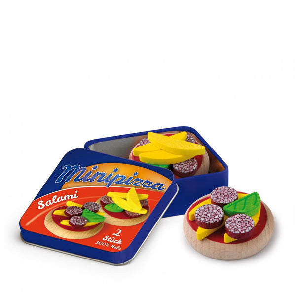 Erzi Mini Pizzas in a Tin