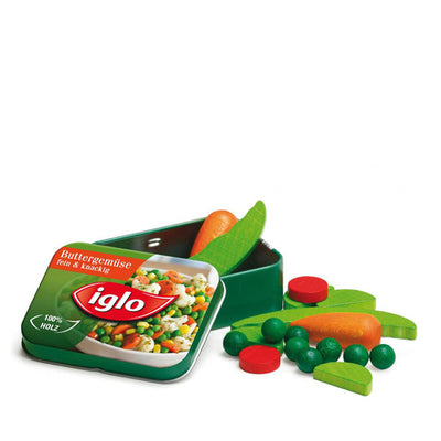 Erzi Vegetables Iglo in a Tin