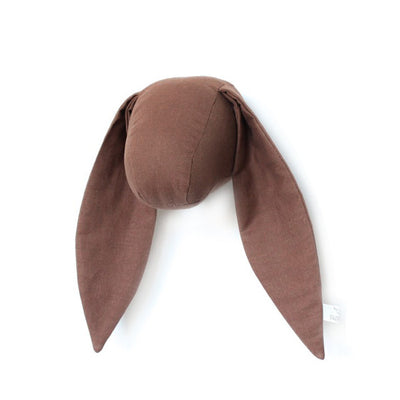 Fabels Out Of Vintage Bunny – Small - Brown Linen