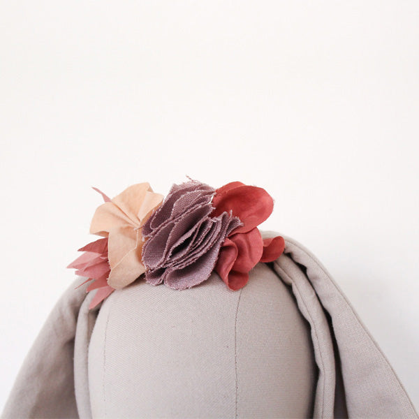Fabels Out Of Vintage Flower Crown - Silk Pink