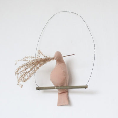 Fabels Out Of Vintage Mama Reed Grass - Terra Pink