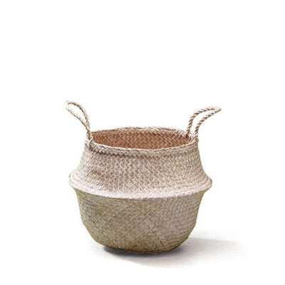 Fair Trade Original Natural Belly Basket - Small