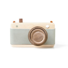 Fanny And Alexander Wooden Zoom Camera – Mineral Green