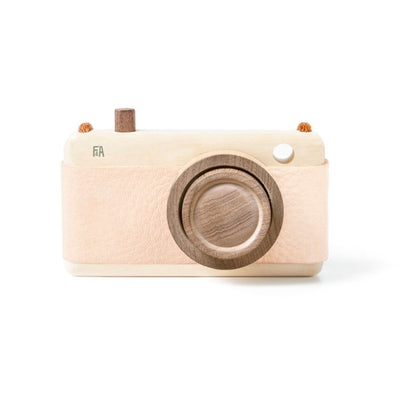 Fanny And Alexander Wooden Zoom Camera – Pink