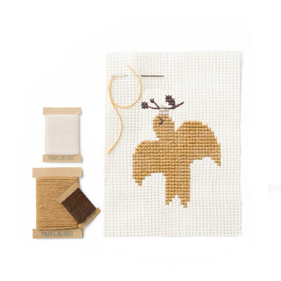 Fanny And Alexander Dove Cross Stitch Kit