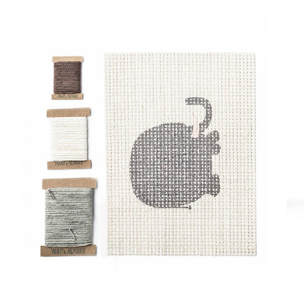 Fanny And Alexander Cross Stitch Kit – Elephant