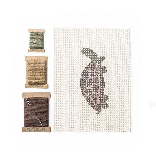 Fanny And Alexander Cross Stitch Kit – Turtle