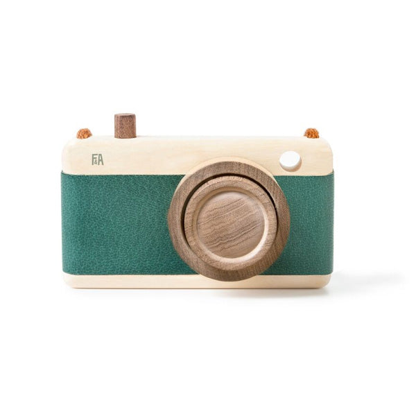 Fanny And Alexander Wooden Zoom Camera – Teal
