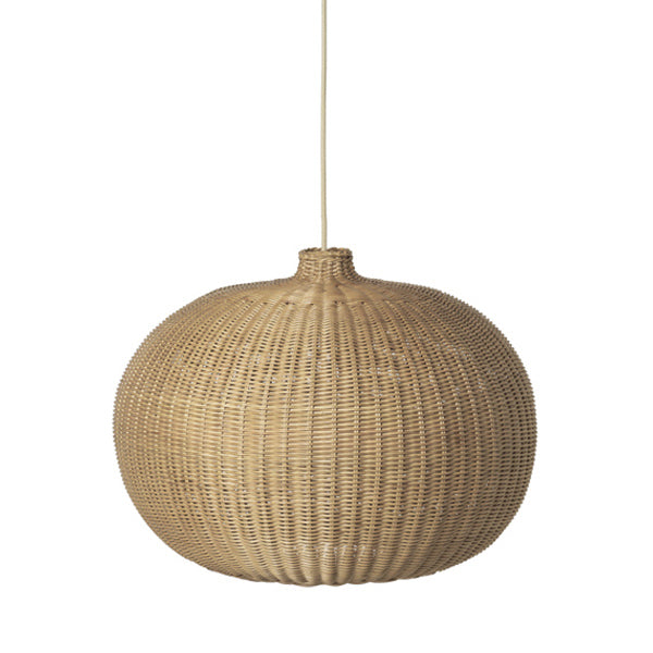 Ferm Living Natural Braided Lamp Shade - Belly