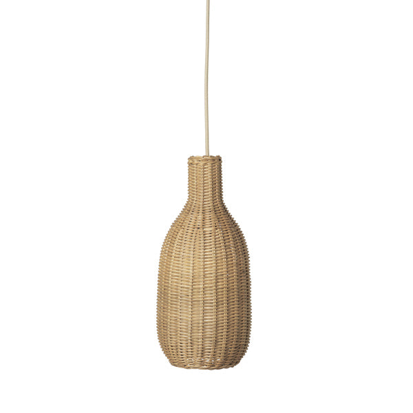 Ferm Living Natural Braided Lamp Shade - Bottle