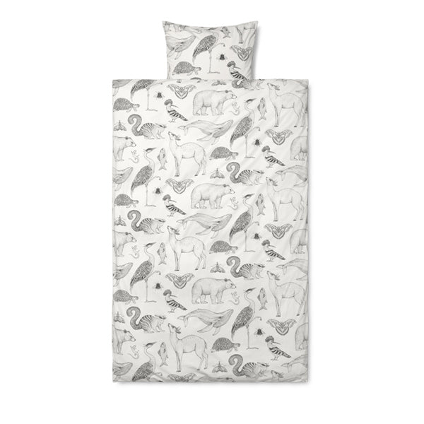 Ferm Living Katie Scott Bedding - Animals - Graphic