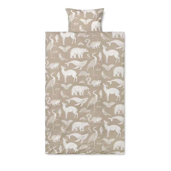 Ferm Living Katie Scott Bedding - Animals - Sand
