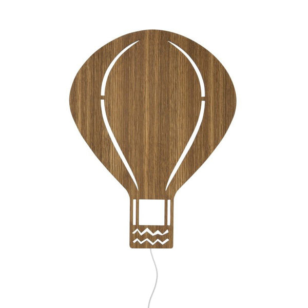 Ferm Living Kids Air Balloon Lamp – Smoked Oak