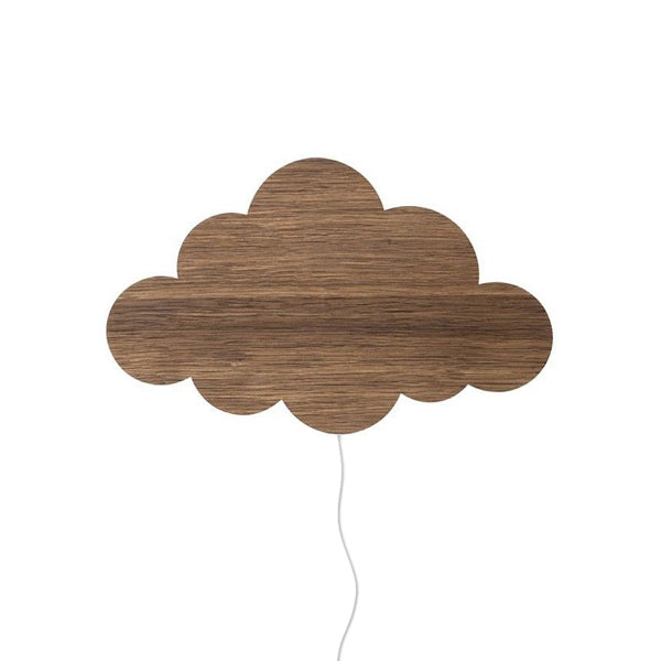 Ferm Living Kids Cloud Lamp – Smoked Oak