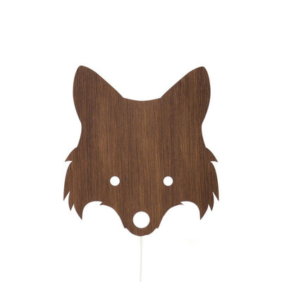 Ferm Living Kids Fox Lamp – Smoked Oak
